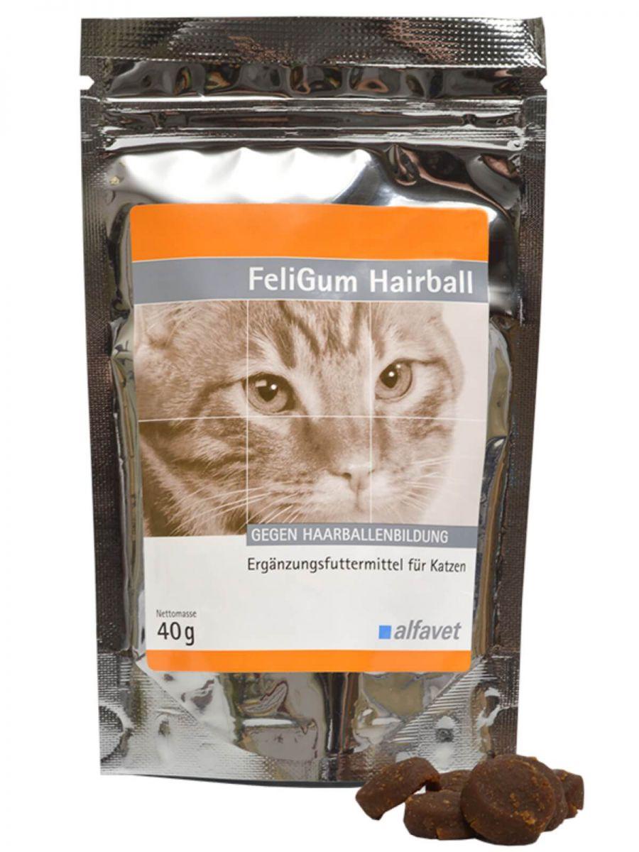 FeliGum® Hairball  -  szőrgolyók kialakulása ellen