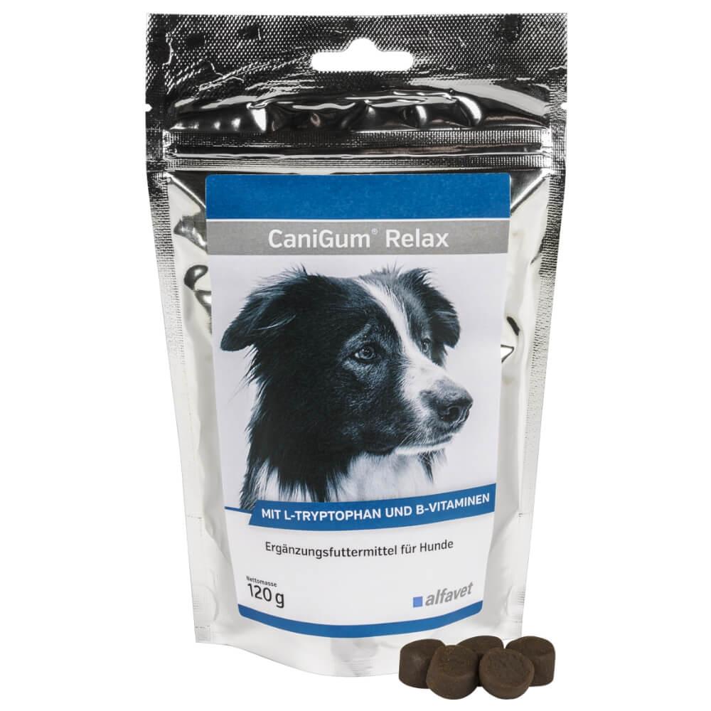 CaniGum® Relax - természetes nyugtató kutyák részére puha rágófalat formájában