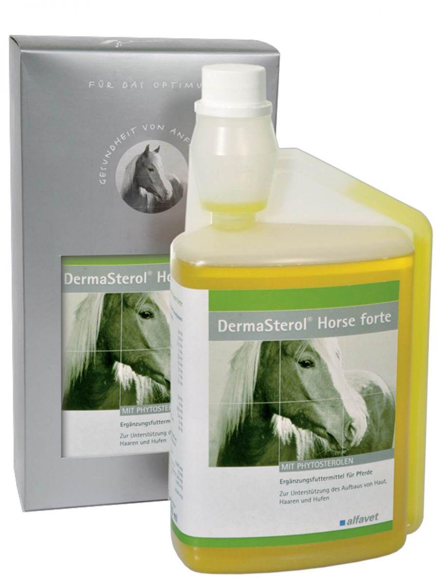 DermaSterol® Horse forte - egészséges bőr, szőrzet és paták