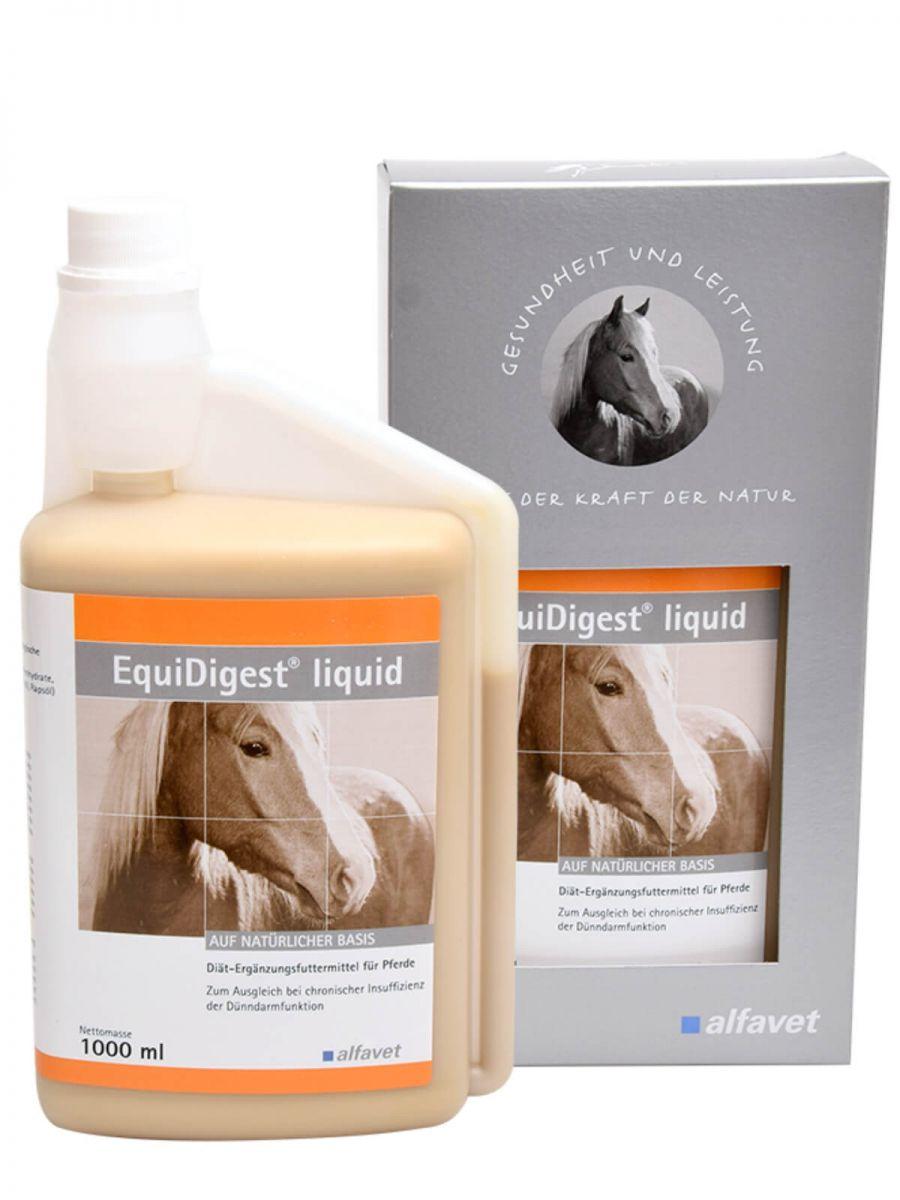 EquiDigest® liquid - emésztést támogató készítmény lovaknak