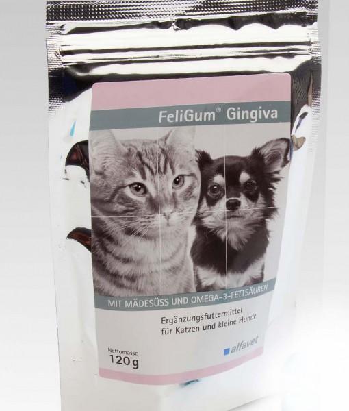 FeliGum® Gingiva - Puha rágótabletta a száj higiéniájának megőrzésére kutyák és macskák részére