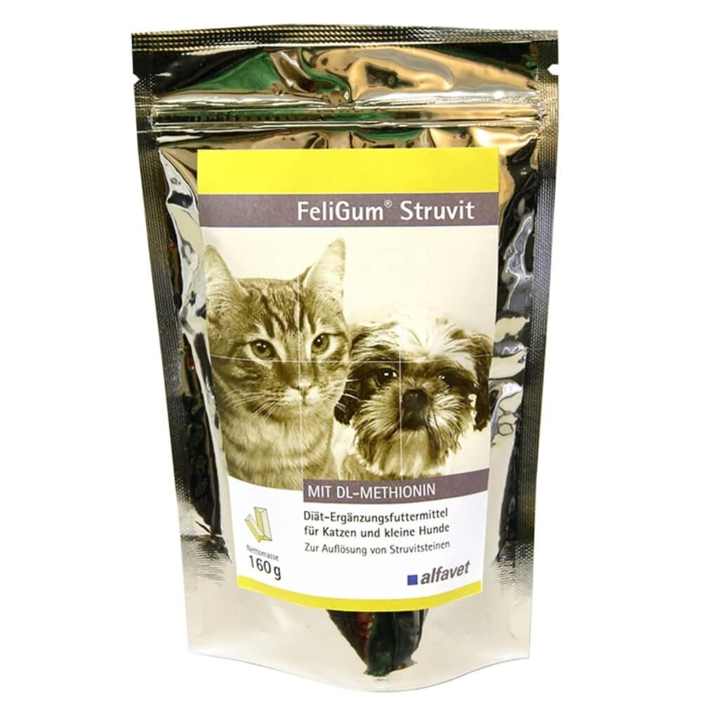 FeliGum® Struvit  - ízletes, puha rágótabletta kutyák és macskák struvit köveinek megelőzésére