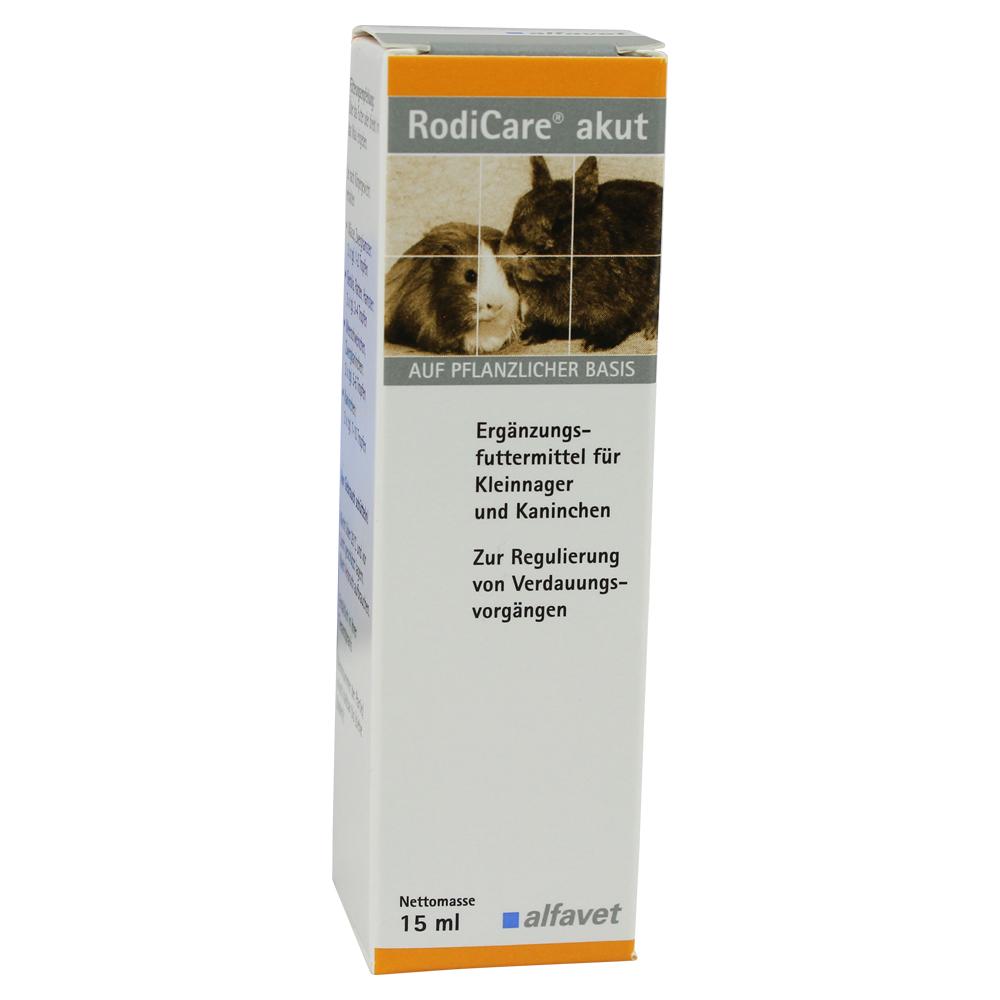 RodiCare® Akut - Gyors segítség rágcsálóknak emésztési panaszok esetén