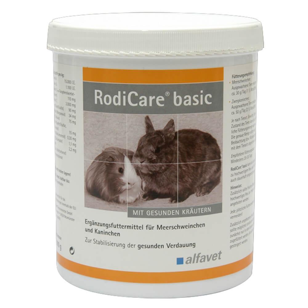 RodiCare® basic  -  emésztést támogató eleség nyulak és tengerimalacok részére